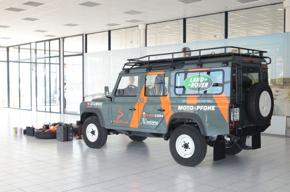 Land Rover Alexandria >> Bulgarian expedition in Africa with Land Rover Defender ...