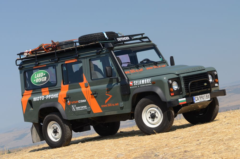 Bulgarian Expedition In Africa With Land Rover Defender