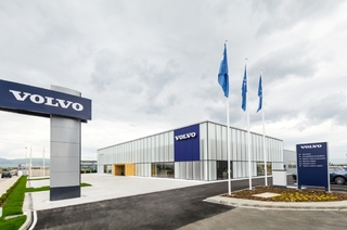 THE NEW VOLVO COMPLEX OFFICIALLY OPENED DOORS IN SOFIA