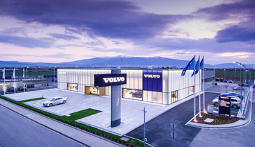 The new Volvo facility in Sofia