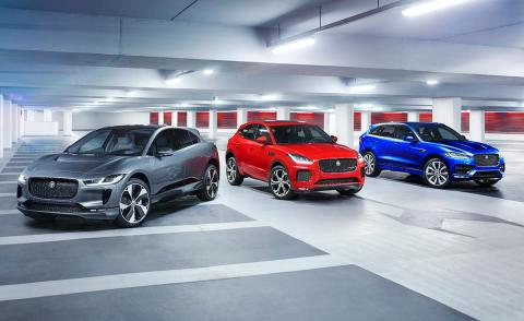 The Jaguar PACE family