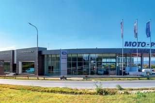 All-new showrooms of Ford, Volvo and Jaguar Land Rover in Varna