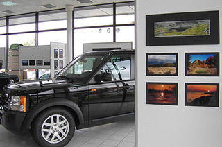 LAND ROVER HOSTED A CHARITY EXHIBITION