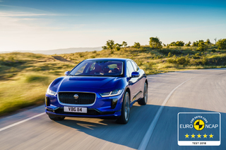 FIVE EURO NCAP STARS FOR THE ELECTRIC JAGUAR I-PACE