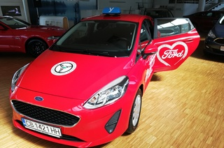 New Ford cars for driving schools