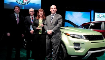 Range Rover Evoque wins North American truck of the year