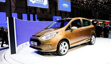 Stylish New Ford B-MAX Opens Doors to Practical Solutions for City Driving at 2012 Geneva Motor Show