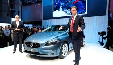 The all-new Volvo V40 - Driving Dynamics