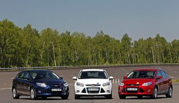 Ford Focus 1.0-litre EcoBoost Sets 16 World Speed Records*