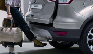 'Magic' Boot that Opens with a Wave of the Foot Proves a Hit; Half of Ford Kuga Customers Choose Hands-Free Tailgate