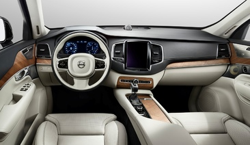 First look inside the all-new Volvo XC90: Volvo Cars' most luxurious interior ever