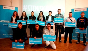 18 orphan graduates with university scholarships from #steniskanabala in the first edition of the program