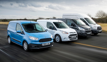 Ford's Legendary Transit Commercial Vehicle Celebrates Fifty Years of Service to Businesses Worldwide