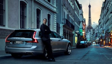 Zlatan Ibrahimović is the face of the new marketing campaign of Volvo V90