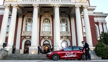 All-new Ford Focus debuts in front of the theater elite in Bulgaria