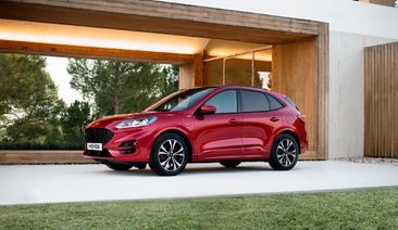 New Ford Kuga plug-in hybrid