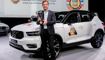 Volvo XC40 named car of the year 2018