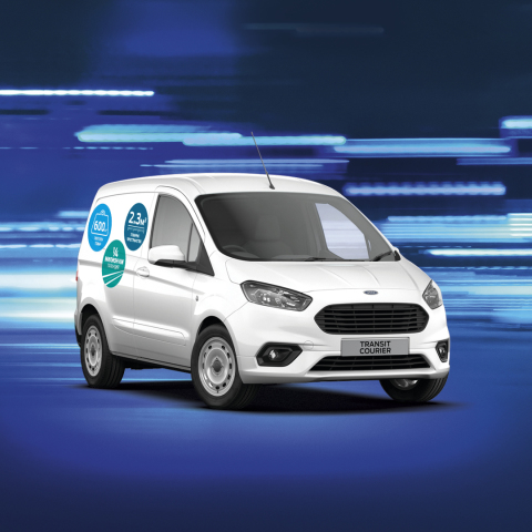 Ford Courier Van. The small one with big capabilities
